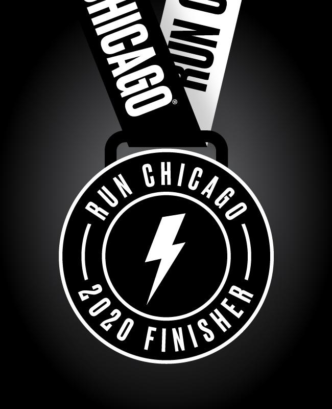 Run Chicago Medal 650X800