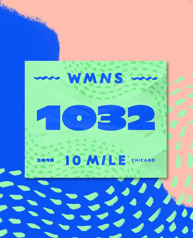 Wmns Chicago 10 Mile Bib
