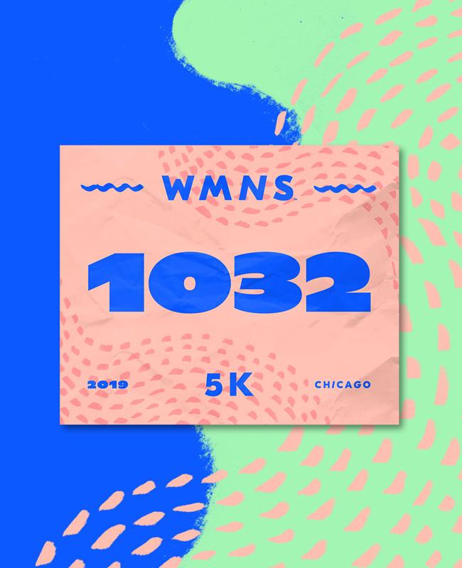 Wmns Chicago 5 K Bib