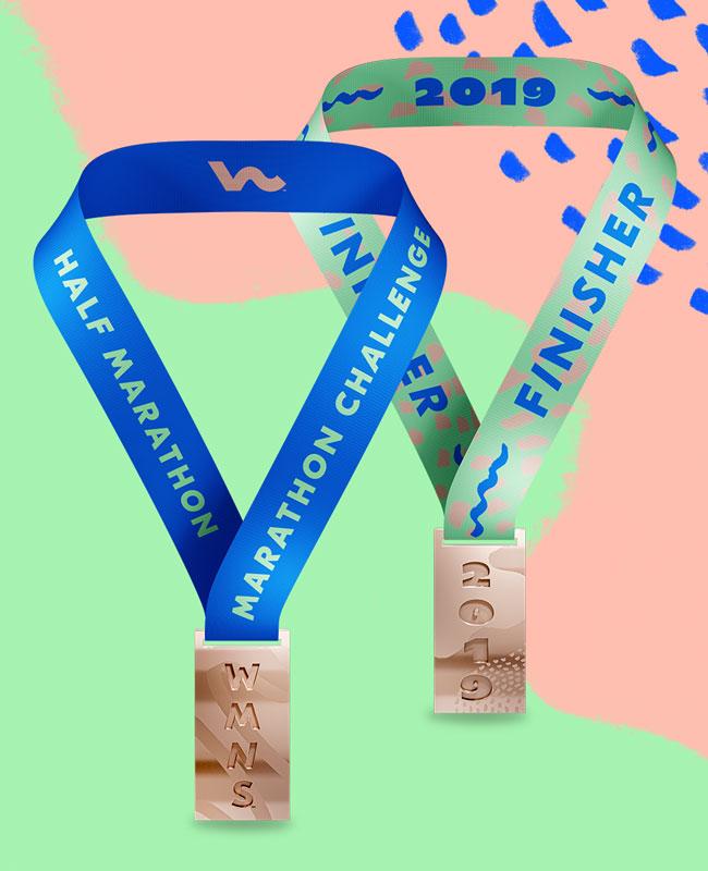 Wmns Chicago Half Medal
